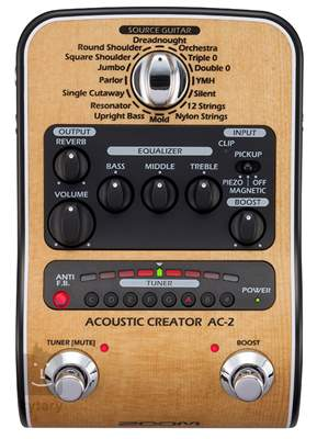 ZOOM AC-2 Acoustic Creator Kytarový multiefekt