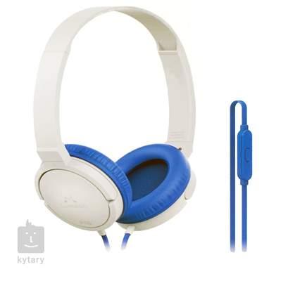 SOUNDMAGIC P10S Blue White Sluchátka