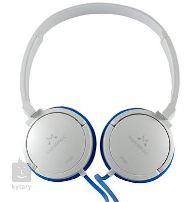 SOUNDMAGIC P10S Blue White Sluchátka