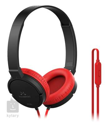 SOUNDMAGIC P10S Black Red Sluchátka