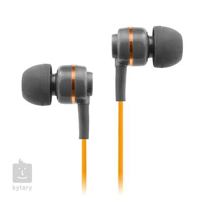SOUNDMAGIC ES18S Grey Orange In-Ear sluchátka