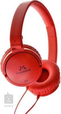 SOUNDMAGIC P21 Red Sluchátka