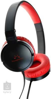 SOUNDMAGIC P21 Black Red Sluchátka