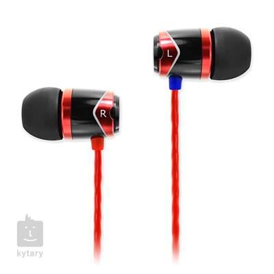 SOUNDMAGIC E10 Black Red In-Ear sluchátka