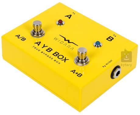 WIDARA AYB Box Yellow Signálový přepínač