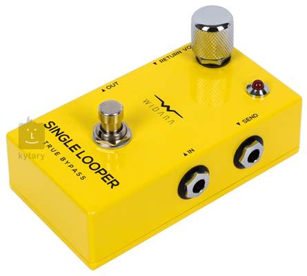 WIDARA Single Looper Return Volume Yellow Signálový přepínač