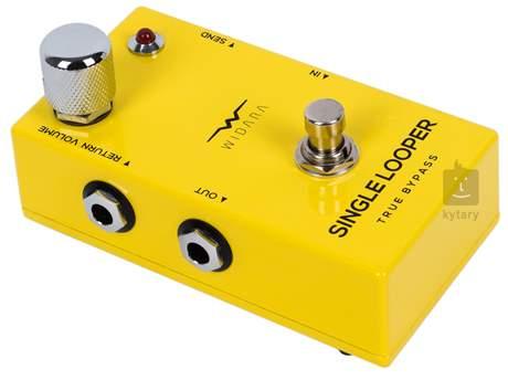 WIDARA Single Looper Return Volume Yellow Signálový přepínač