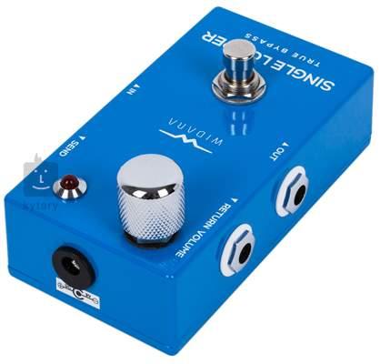 WIDARA Single Looper Return Volume Blue (rozbalené) Signálový přepínač