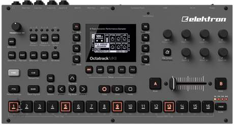 ELEKTRON Octatrack MK2 Sampler