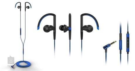 SOUNDMAGIC ST80 Black Blue Bezdrátová sluchátka