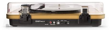 ION Max LP Wood Gramofon