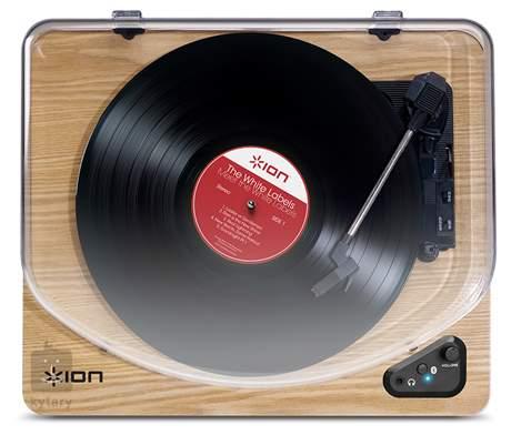 ION Air LP Wood Gramofon