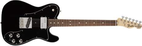 FENDER 72 Telecaster Custom PF BLK Elektrická kytara