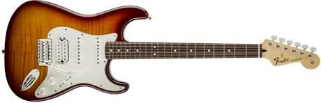 FENDER Standard Stratocaster HSS Plus Top PF TBS Elektrická kytara