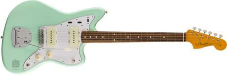 FENDER Classic 60s Jazzmaster Lacquer PF SFG Elektrická kytara