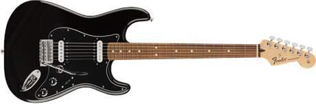 FENDER Standard Stratocaster HH PF BLK Elektrická kytara