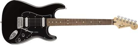 FENDER Standard Stratocaster HSH PF BLK Elektrická kytara