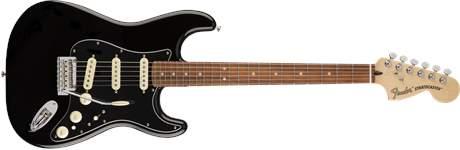 FENDER Deluxe Stratocaster PF BLK Elektrická kytara