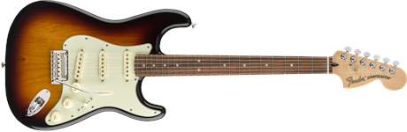 FENDER Deluxe Roadhouse Stratocaster PF 3TSB Elektrická kytara