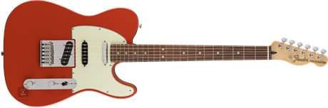 FENDER Deluxe Nashville Telecaster PF FRD Elektrická kytara