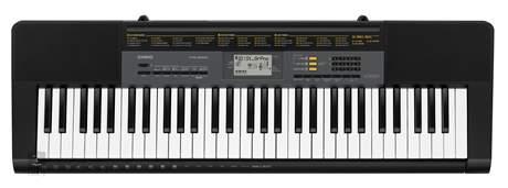 CASIO CTK-2500 Klávesy bez dynamiky