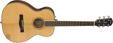 FENDER PM-TE Standard Travel OPN PORE NAT Elektroakustická kytara