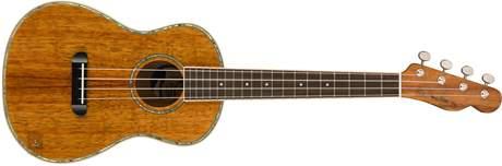 FENDER Ukulele Montecito Koa NAT WB Akustické ukulele