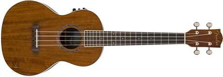 FENDER Ukulele Rincon Ovangkol NAT WB Elektroakustické ukulele