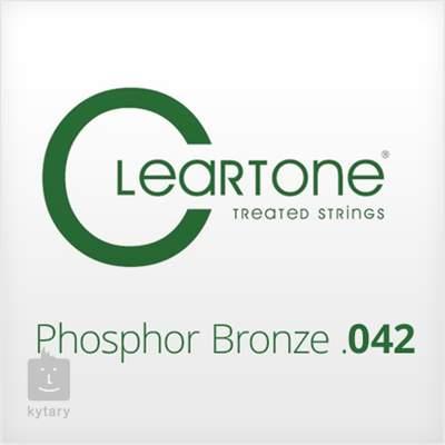 CLEARTONE Phosphor Bronze .042 Kovová struna pro akustickou kytaru