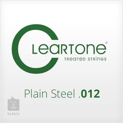 CLEARTONE Plain Steel .012 Struna pro elektrickou/akustickou kytaru