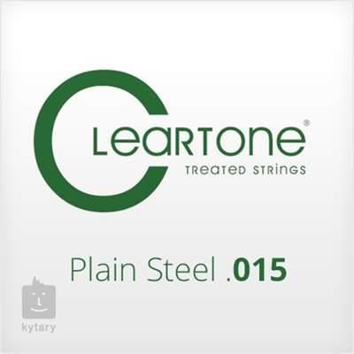 CLEARTONE Plain Steel .015 Struna pro elektrickou/akustickou kytaru