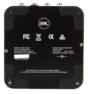 GALLIEN-KRUEGER Plex Preamp Baskytarový předzesilovač a DI Box