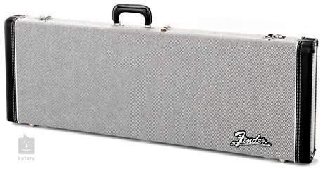 FENDER G&G Deluxe Hardshell Case Black Tweed - Stratocaster/Telecaster Kufr pro elektrickou kytaru