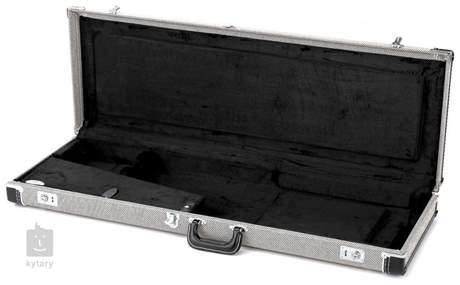 FENDER Deluxe Case, Black Tweed w/ Black Interior Kufr pro elektrickou kytaru