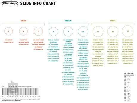 DUNLOP Pyrex 212 Slide