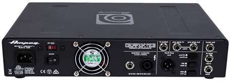 AMPEG PF-500 (rozbalené) Baskytarový tranzistorový zesilovač