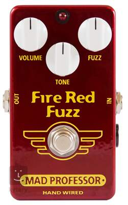MAD PROFESSOR Fire Red Fuzz HW Kytarový efekt