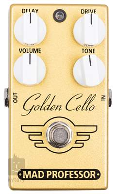 MAD PROFESSOR Golden Cello Overdrive Delay Kytarový efekt