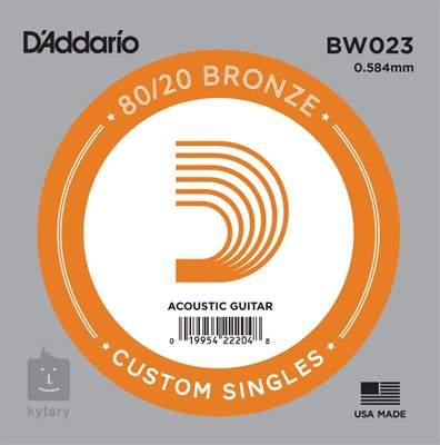 D'ADDARIO BW023 Kovová struna pro akustickou kytaru