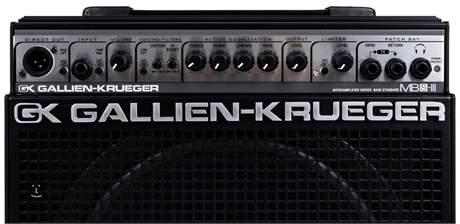 GALLIEN-KRUEGER MB150S-112 III Baskytarové tranzistorové kombo