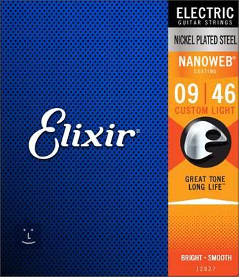 ELIXIR Nanoweb Custom Light Struny pro elektrickou kytaru
