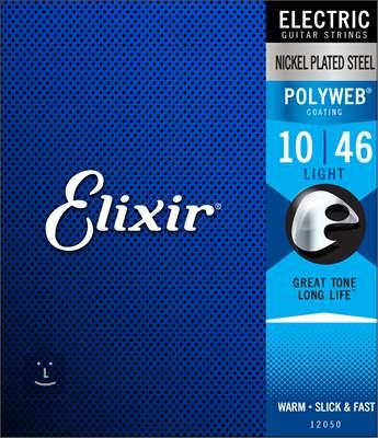 ELIXIR Polyweb Light Struny pro elektrickou kytaru