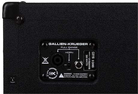 GALLIEN-KRUEGER CX 115 Baskytarový reprobox