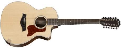 TAYLOR 254ce-CF DLX Dvanáctistrunná elektroakustická kytara