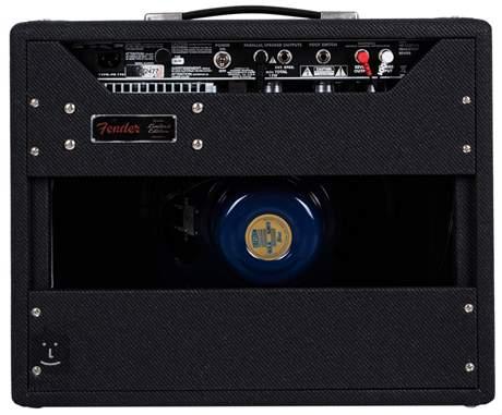 FENDER 68 Princeton Reverb Black & Blue Limited Edition Kytarové lampové kombo