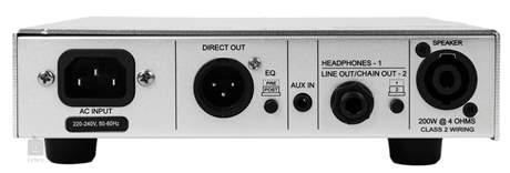 GALLIEN-KRUEGER MB 200 (použité) Baskytarový tranzistorový zesilovač