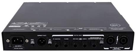 GALLIEN-KRUEGER MB Fusion 800 Baskytarový hybridní zesilovač
