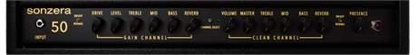 PRS Sonzera 50 Head Kytarový lampový zesilovač