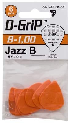 D-GRIP Jazz B 1.00 6 pack Trsátka