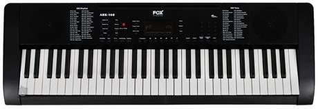 FOX 160 BK Klávesy bez dynamiky